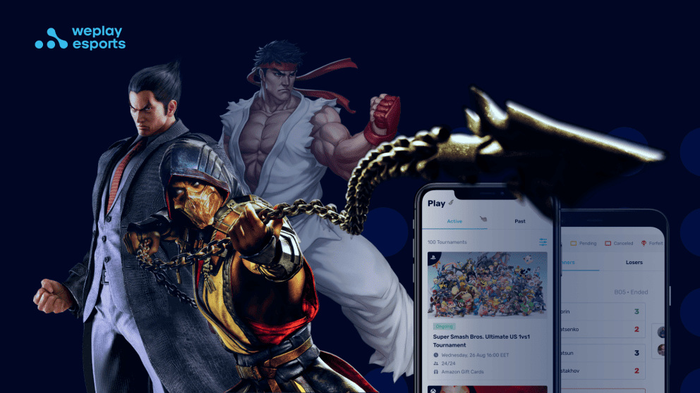 Play Fighting Games on the WePlay Tournament Platform